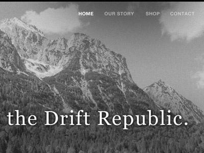 Drift website drift clothing