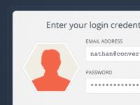 Account credentials