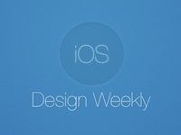 iOS Design Weekly