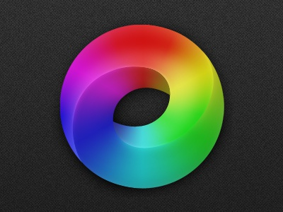 Fluent Icon circle colors icon ios iphone