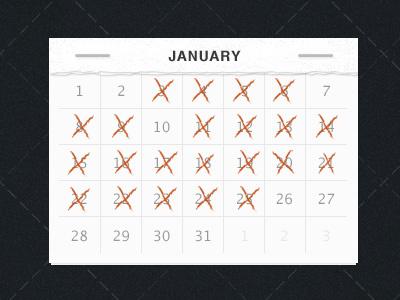 Don't Break the Chain calendar ios iphone