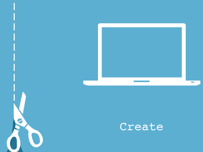 Create or Consume create blog scissors
