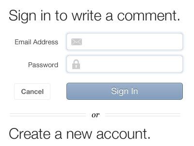 Sign in login register sign in create account
