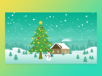 关于圣诞节的插画