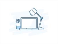Desktop up-sell