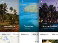 Far and Wild destination pages