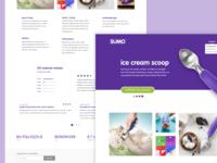 SUMO website design