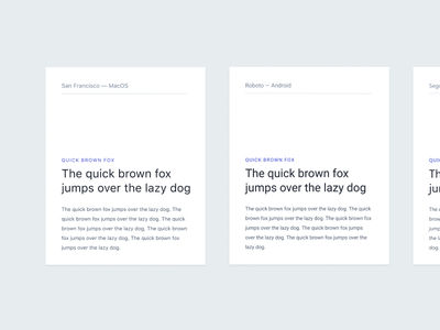 Exploring the System Font Stack typogaphy uidesign fonts