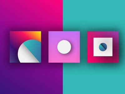 Abstract visual vibrant music logo identity colour color branding brand app abstract