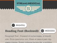 Streamlinesocial identity material