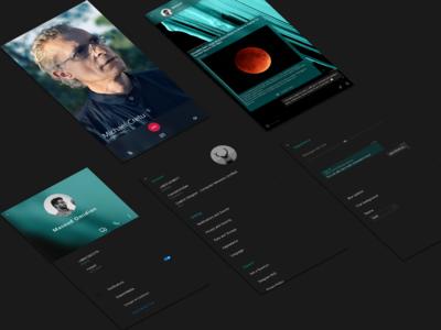Telegram UI Concept [Mobile]