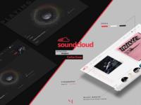Soundcloud Concept Design