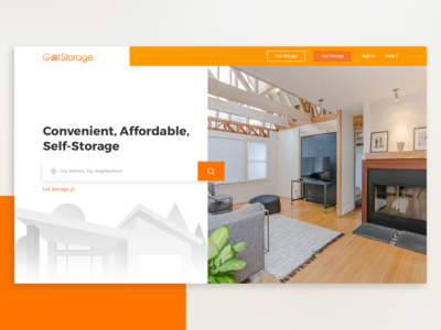 Get Storage - Affordable Storage Listing