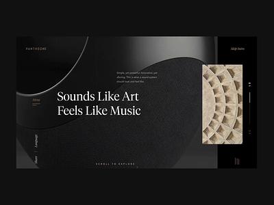 Speaker eCommerce website sketch makereign ecommerce product interaction web ux ui interface design