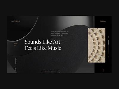 Speaker eCommerce website