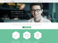 Dotted Paper home page design