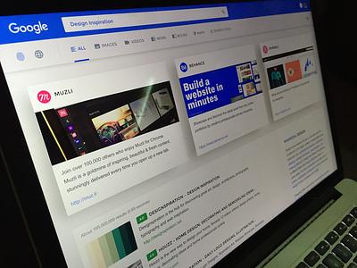 Google Redesign eyal zuri cards web redesign israel eyal ui ux design search google
