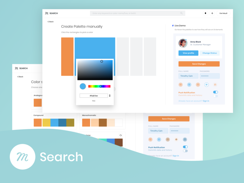 Muzli Search: Find your spark search minimal app images branding icon animation typography vector gif feed logo web illustration mobile design ux ui palette color