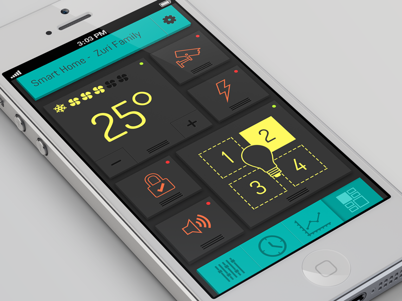 Smart Home By Eyal Zuri - Dribbble