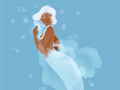 Mermaid: Blue