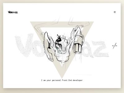 Vorillaz Portfolio Site