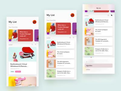 Pocket App Redesign