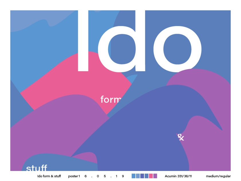 what ido poster design