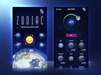 Zodiac Game UI