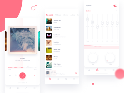 Poweramp Music Player Redesign