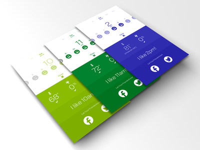 Foresee - Activity Forecast Details flat simple clean productivity weather planning colors colorful activity app apple ios iphone blue application contrast green forecast foresee bold yellow