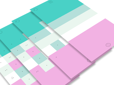 har•mo•ny 2 gameplay screens color palette soft music ambient pastel blue pink ios app game puzzle