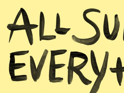 Dribbble 400x300 all sunny everything