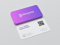 3Elements Agency - business cards