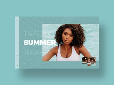 Summer user interface simple dailyui clean ui ui designer modern ux design ui design minimal