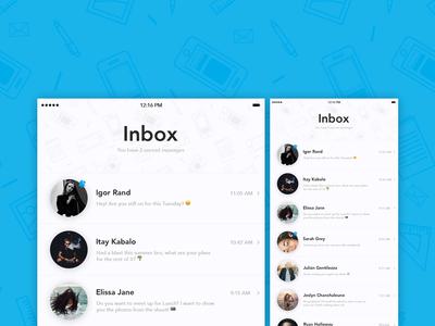 Inbox UI