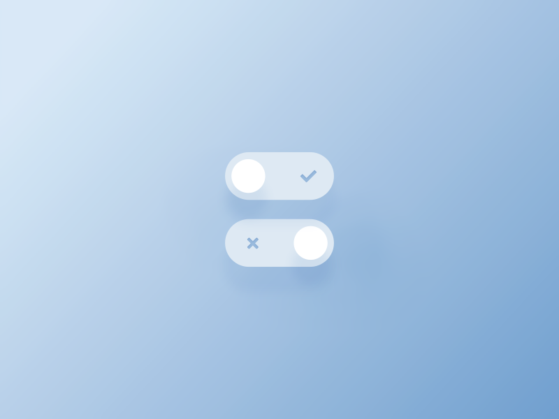 Daily UI #015 - On/Off Switch minimal simple modern ui design ux design toggles dailyui button switch