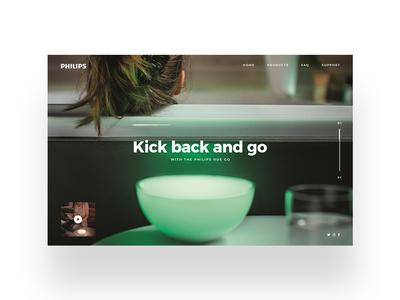 Philips Hue UI