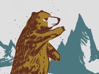Roar bear retro grizzly ottawa ontario