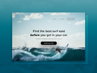 Surfing Landing Page