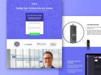 Mira Landing Page