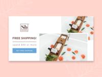 Soapbox - FREE shipping ad