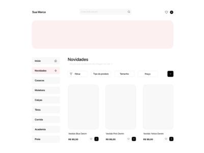 Shop Web Page