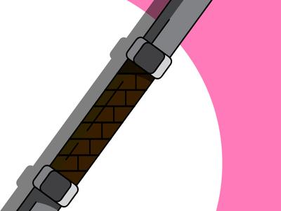 Guard Stick - Aerith