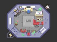 A Gamer's Workspace