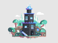 Star Tipped Tower