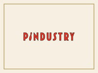 Pindustry logo concept
