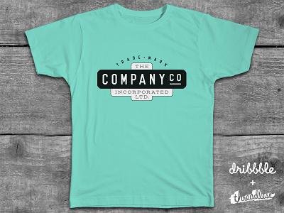 The Company Co. Incorporated, Ltd.™ company threadless contest logo t-shirt