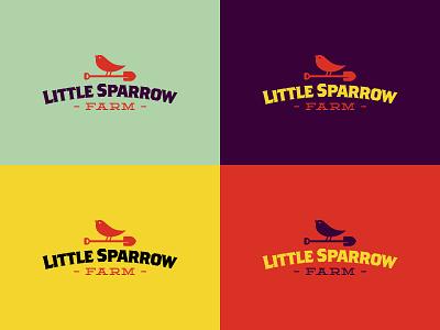 Little Sparow Farm Colors sparrow spade shovel farm little colors