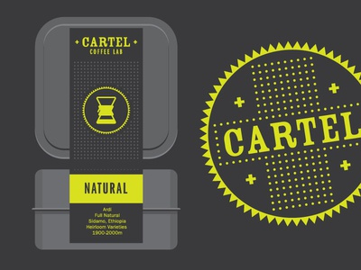 Cartel Coffee Lab promo mockup