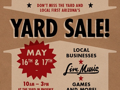 Yard Sale at Culinary Dropout